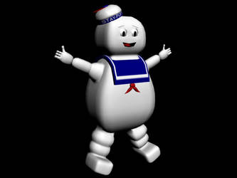 Stay-Puft Marshmallow Man by MegaField64