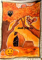 #311 Autumn by LateAMdoodles