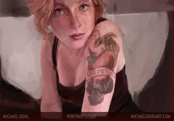 28112013 Portrait by michaeldoig
