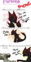 New Fursona Meme by Wolf-Alpha