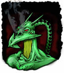 Nemesis the Warlock - Sketch by strangelysaucy