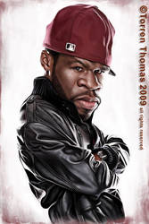 50 Cent by Bigboithomas84