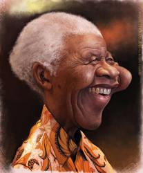 Nelson Mandela by Bigboithomas84