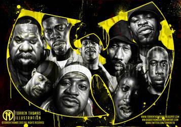 Wu Tang Clan by Bigboithomas84
