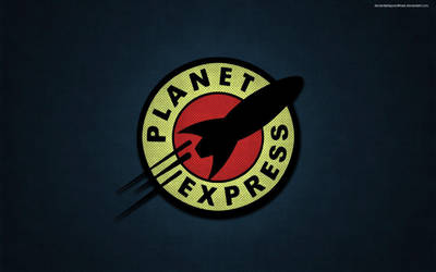 Futurama Planet Express wallpaper by deviantartspeedfreak