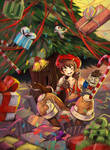 Get piled in da gifts!! by Ariyx