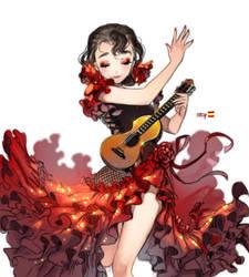 Flamenco by kawacy