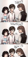 When walking with your siblings... by kawacy