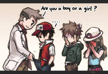 Are you a boy or a girl ? by kawacy