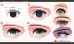 Drawing eyes - mini version by kawacy