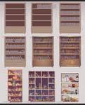 How to draw a Bookshelf by kawacy