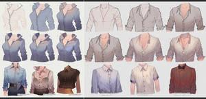 Men vs Women Shirts by kawacy