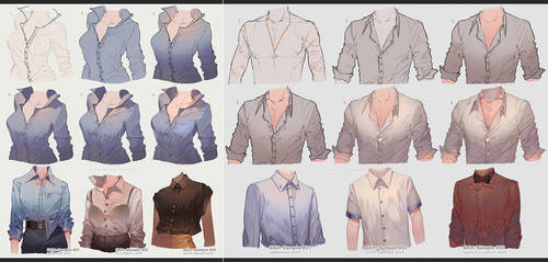 Men vs Women Shirts by kawacy