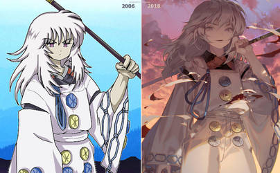 2006 vs 2018 by kawacy