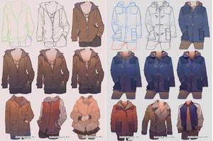 How To Draw Jacket by kawacy