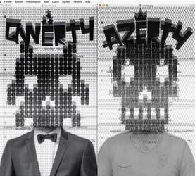 Qwerty et Azerty by Jeyjie