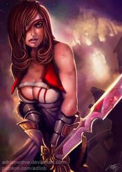 Beatrix, sword of Alexandria - Adrian Wolve by AdrianWolve