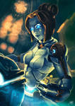 Orianna, the lady of clockwork by AdrianWolve by AdrianWolve