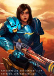 Pharah Overwatch FanArt + NSFW by AdrianWolve
