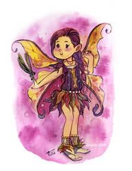 fairy series: Autumn Flower by glassie