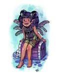 Fairy Series: Troll Pixie by glassie