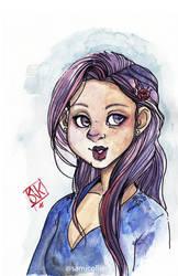 Sketchbook: Pale Eyes by glassie