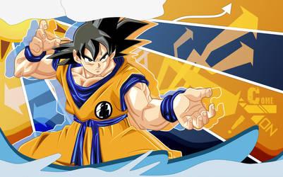Come On Goku by DenLeon