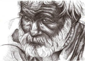 An old man by mystic-Portal