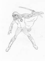 Robin Pencil by otakusenpai