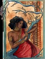 Reine de Saba by Miliedessine