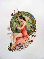 Le parfum des fleurs by Miliedessine