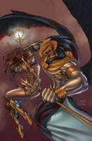 Legend of Isis Issue1 by jossielara