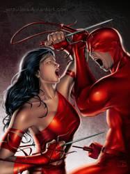 The Eternal Fighting - painted by jossielara