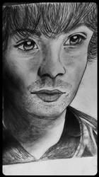 Jared Padelecki Portrait by MapleAndAnimeCrazy