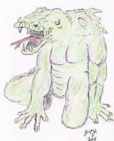 Lizard Man by JasonYoungdale