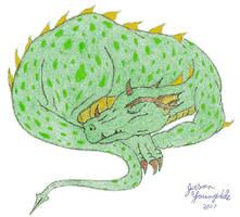 Sleeping Dragon by JasonYoungdale