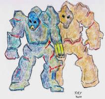 Robots by JasonYoungdale