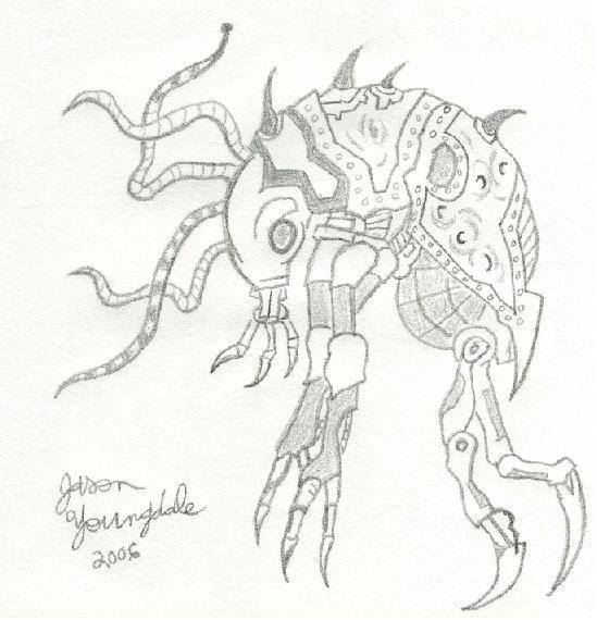 Space Bug by JasonYoungdale