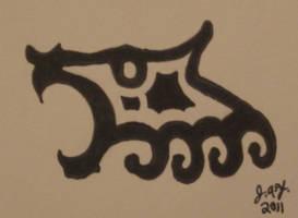 Wolf Tattoo by JasonYoungdale