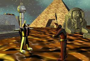 Anubis Ceremony by JasonYoungdale