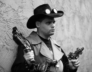 Steampunk Cowboy 2 by JasonYoungdale