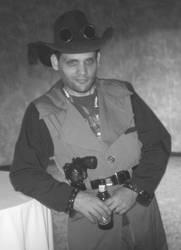 Steampunk Cowboy 3 by JasonYoungdale