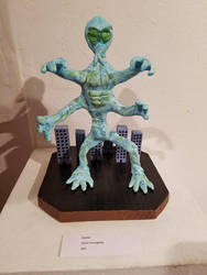 Alien Sculpture by JasonYoungdale