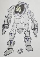 Underwater Mining Robot by JasonYoungdale
