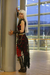 Cerise Wolf Ever After High by Red-Mary