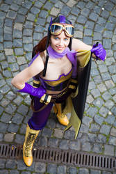 Batgirl Bs by Red-Mary