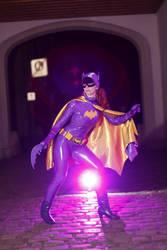 Batgirl 1966 nananananananana Batmaaaaaan by Red-Mary