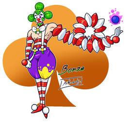 Bonzo, The Clown Juggler by Arkalarts