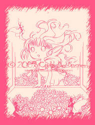 Fairy Lineart by Cientifica