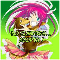 Perrito en adopcion by Cientifica